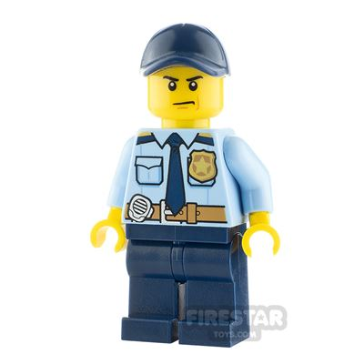 LEGO City Minifigure Policeman with Gold Badge