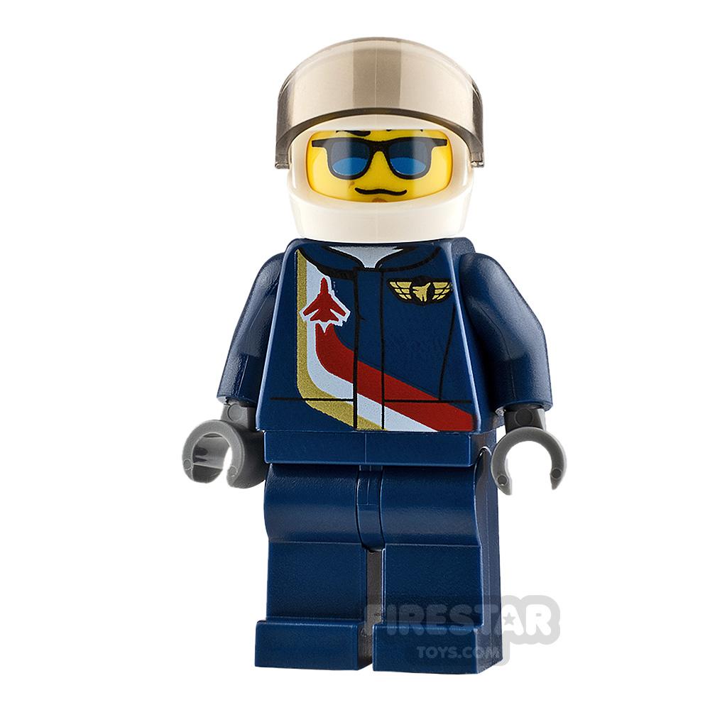LEGO City Minifigure Airshow Jet Pilot