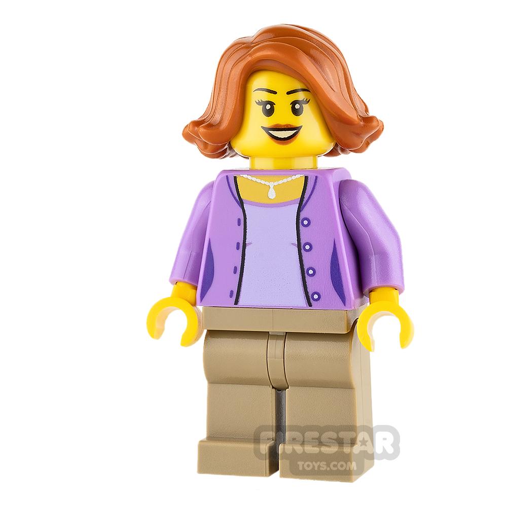 LEGO City Mini Figure - Camper - Female Parent