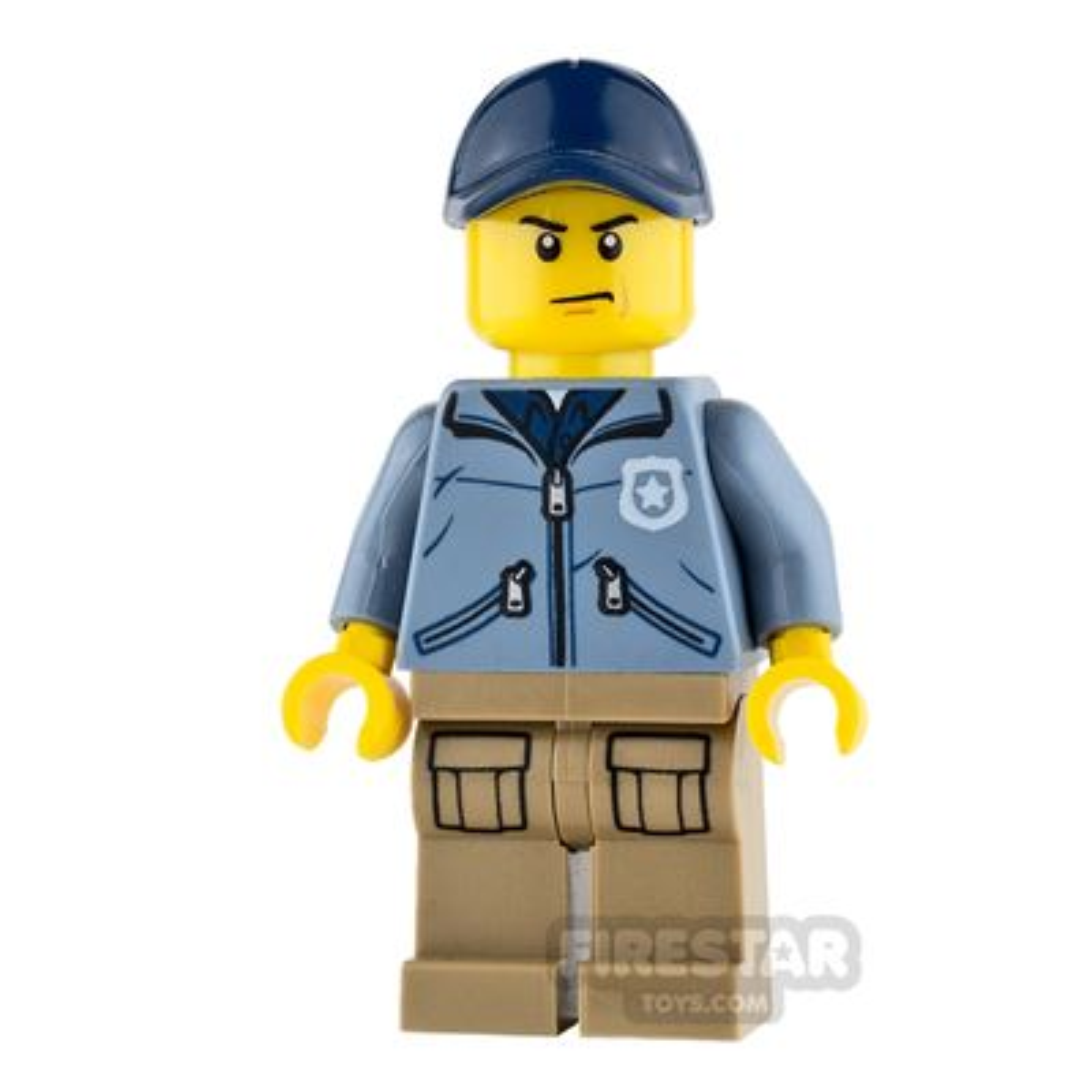 LEGO City Mini Figure - Mountain Police - Officer Male