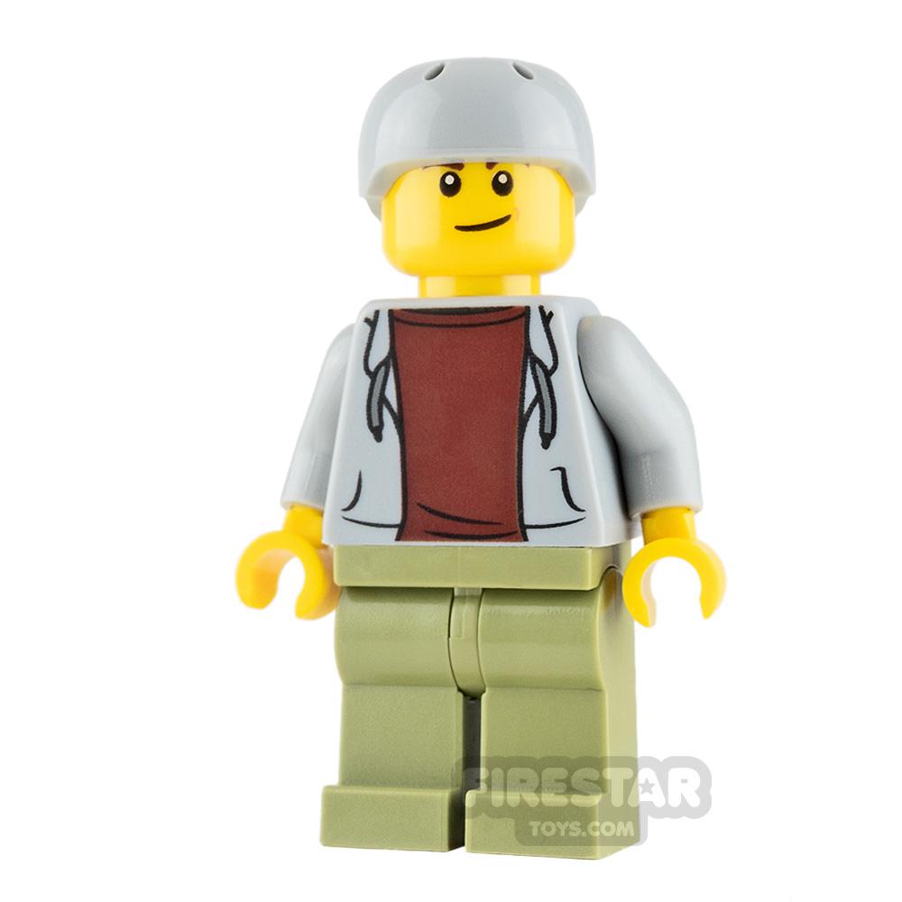 LEGO City Minifigure Skateboarder
