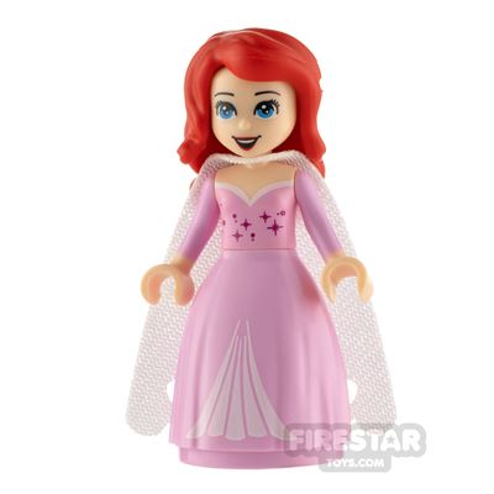 LEGO Disney Princess Minifigure Ariel Dress with Stars