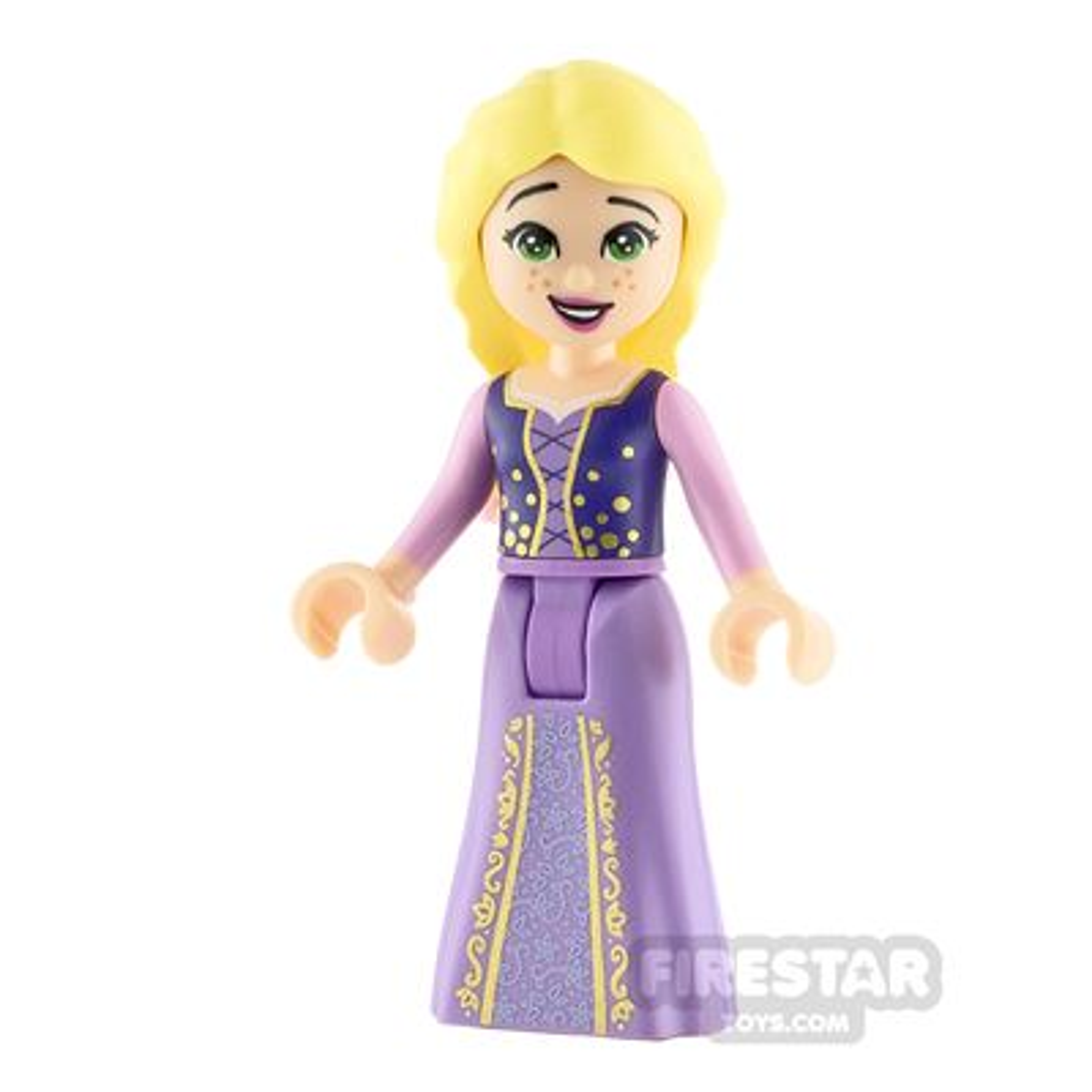 LEGO Disney Princess Minifigure Rapunzel Jacket and Top