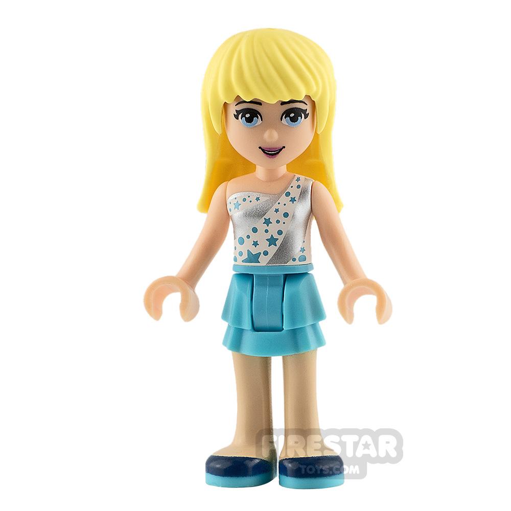 LEGO Friends Minifigure Stephanie Top with Stars