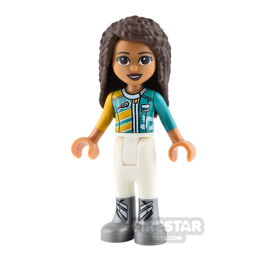 LEGO Friends Mini Figure - Andrea - Racing Jacket
