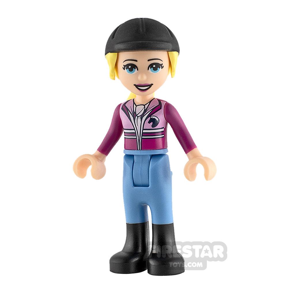 LEGO Friends Minifigure Stephanie Magenta Jacket