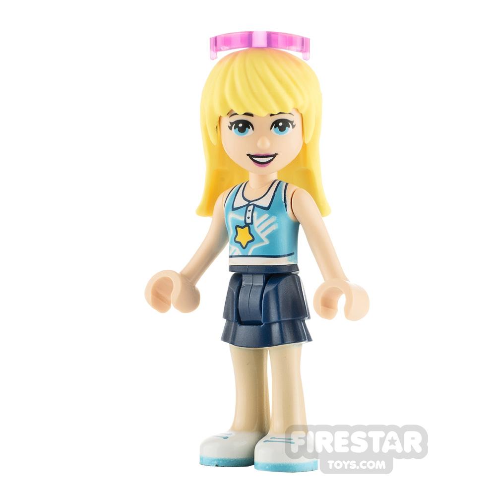 LEGO Friends Minifigure Stephanie Star Top