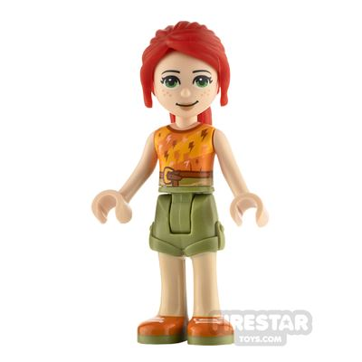 LEGO Friends Minifigure Mia Top with Lightning