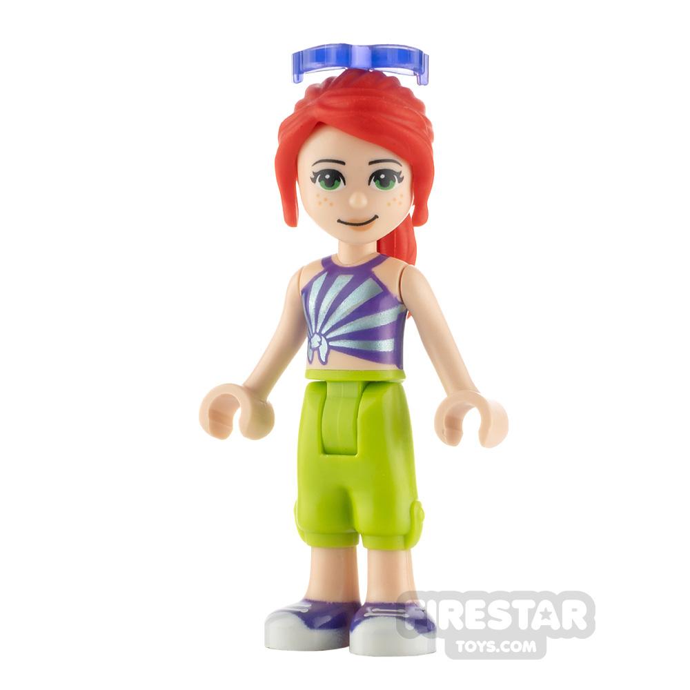 LEGO Friends Minifigure Mia Striped Top
