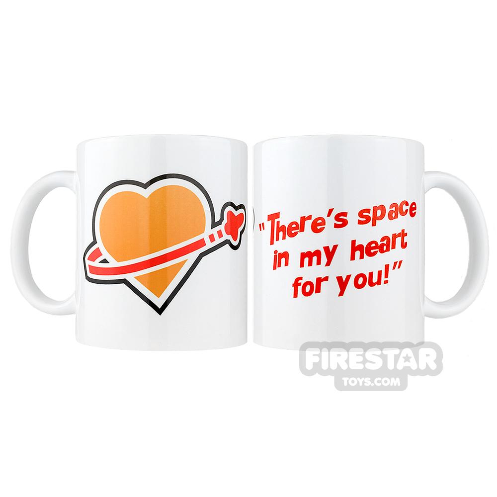 Classic Space Valentines Mug