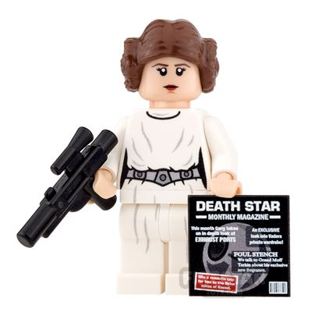 Custom Design Mini Figure - SW Rebel Princess