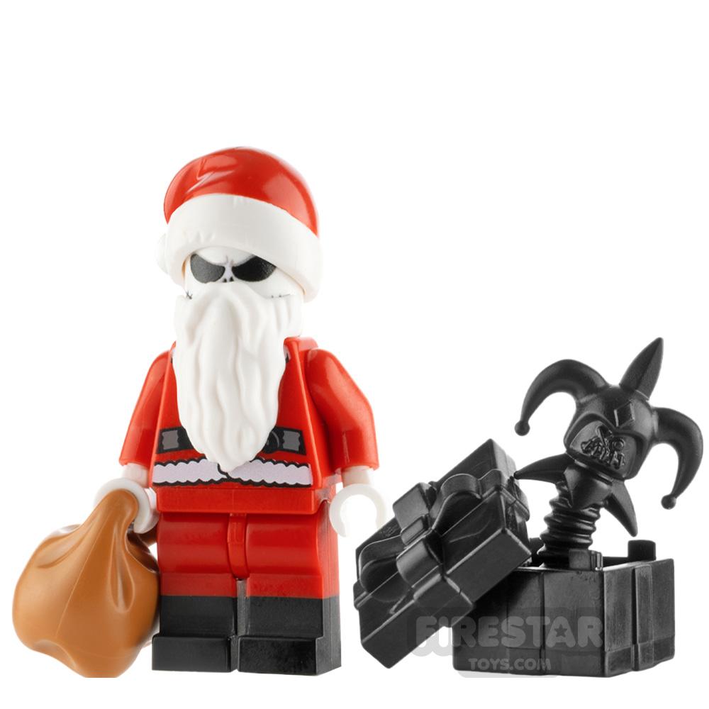 Custom Minifigure Santa Jack Skellington