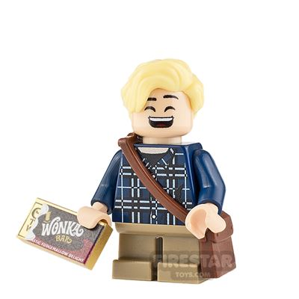 Custom Minifigure Charlie Bucket