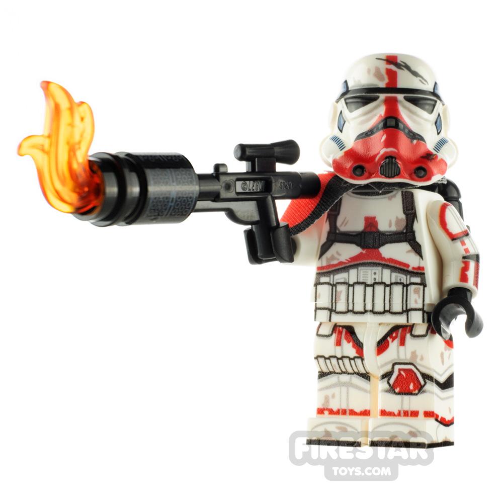Custom Minifigure SW Pyro-Trooper
