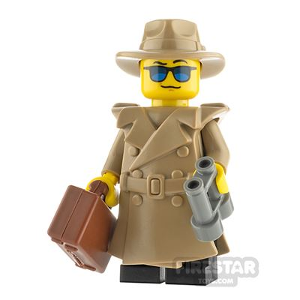 Custom Minifigure Classic Spy