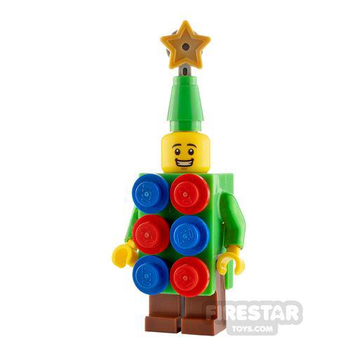 Custom Minifigure Christmas Tree Costume