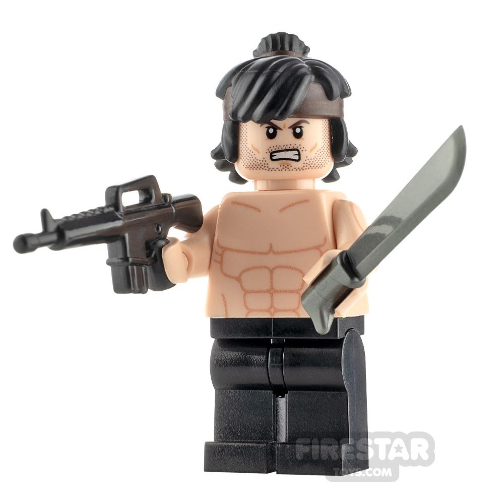 Custom Minifigure Rambo