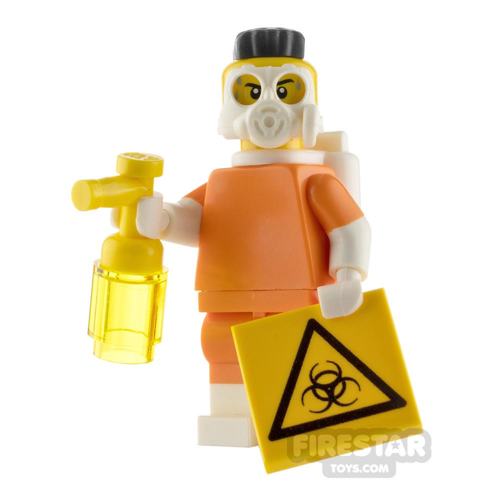 Custom Minifigure Biohazard Clean-up
