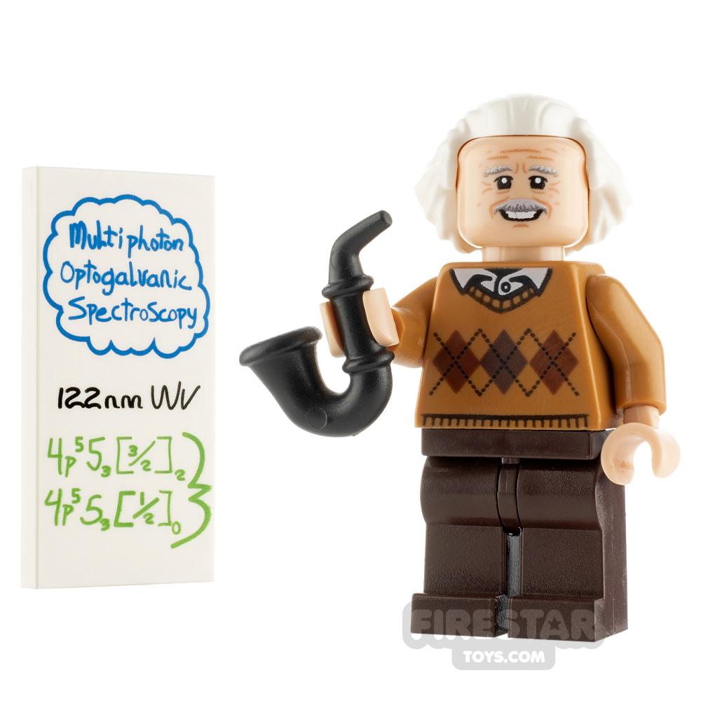 Custom Minifigure Albert Einstein