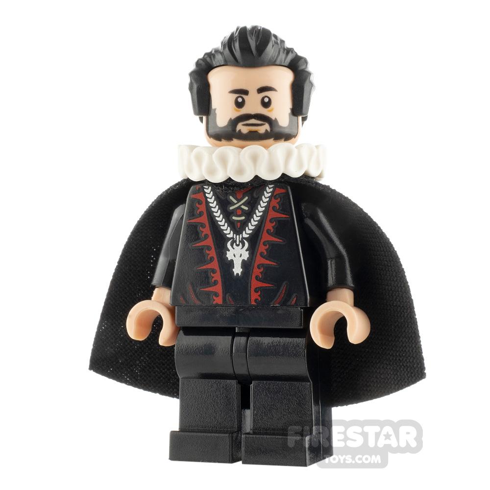 Custom Minifigure Blackadder Edmund Blackadder