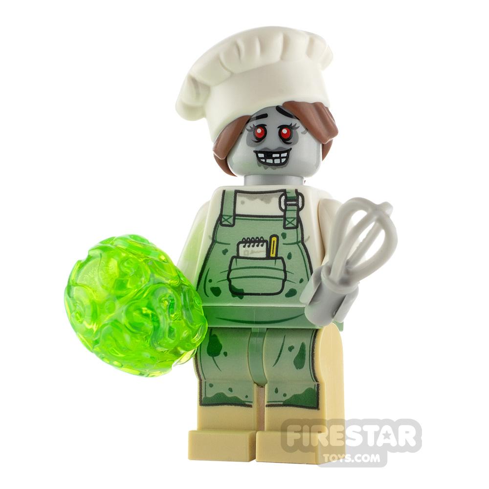 Custom Minifigure Zombie Baker
