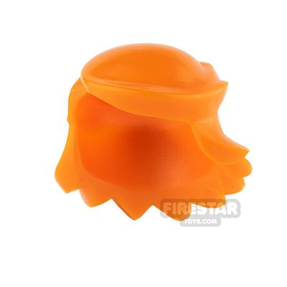 Arealight Mini Figure Hair - Breezy Hair - Orange