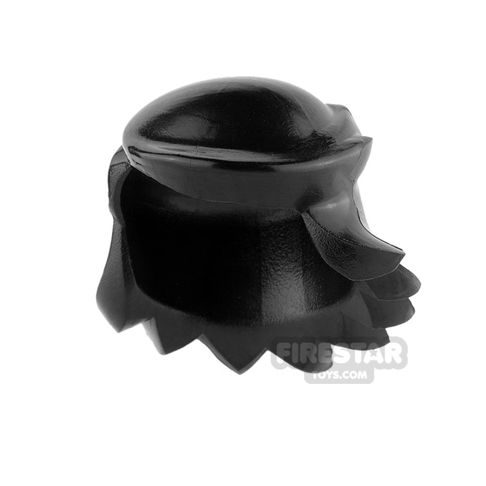 Arealight Mini Figure Hair - Breezy Hair - Black