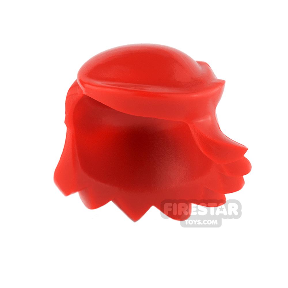 Arealight Mini Figure Hair - Breezy Hair - Red