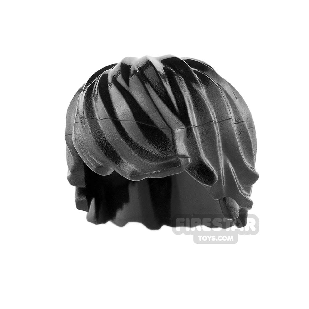 LEGO Hair - Choppy - Black