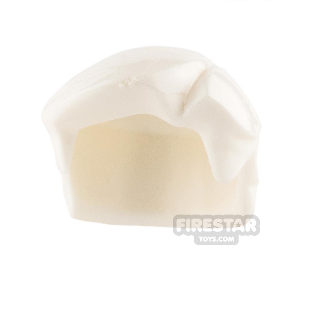 Arealight Mini Figure Hair - Hero Hair - White
