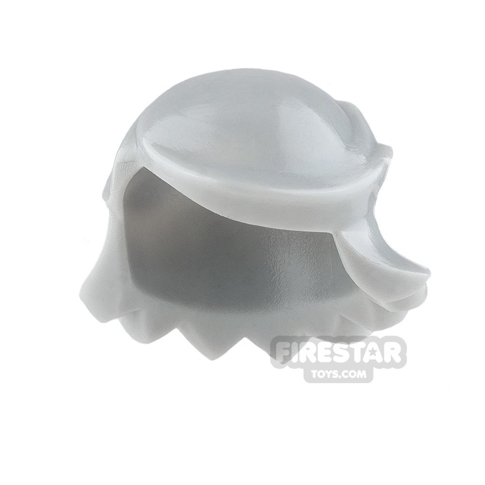 Arealight Mini Figure Hair - Breezy Hair - Light Gray