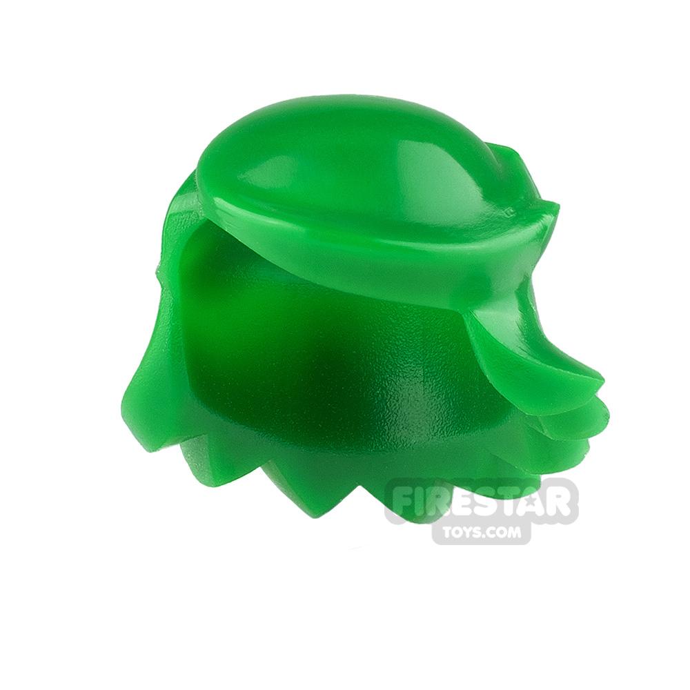 Arealight Mini Figure Hair - Breezy Hair - Green