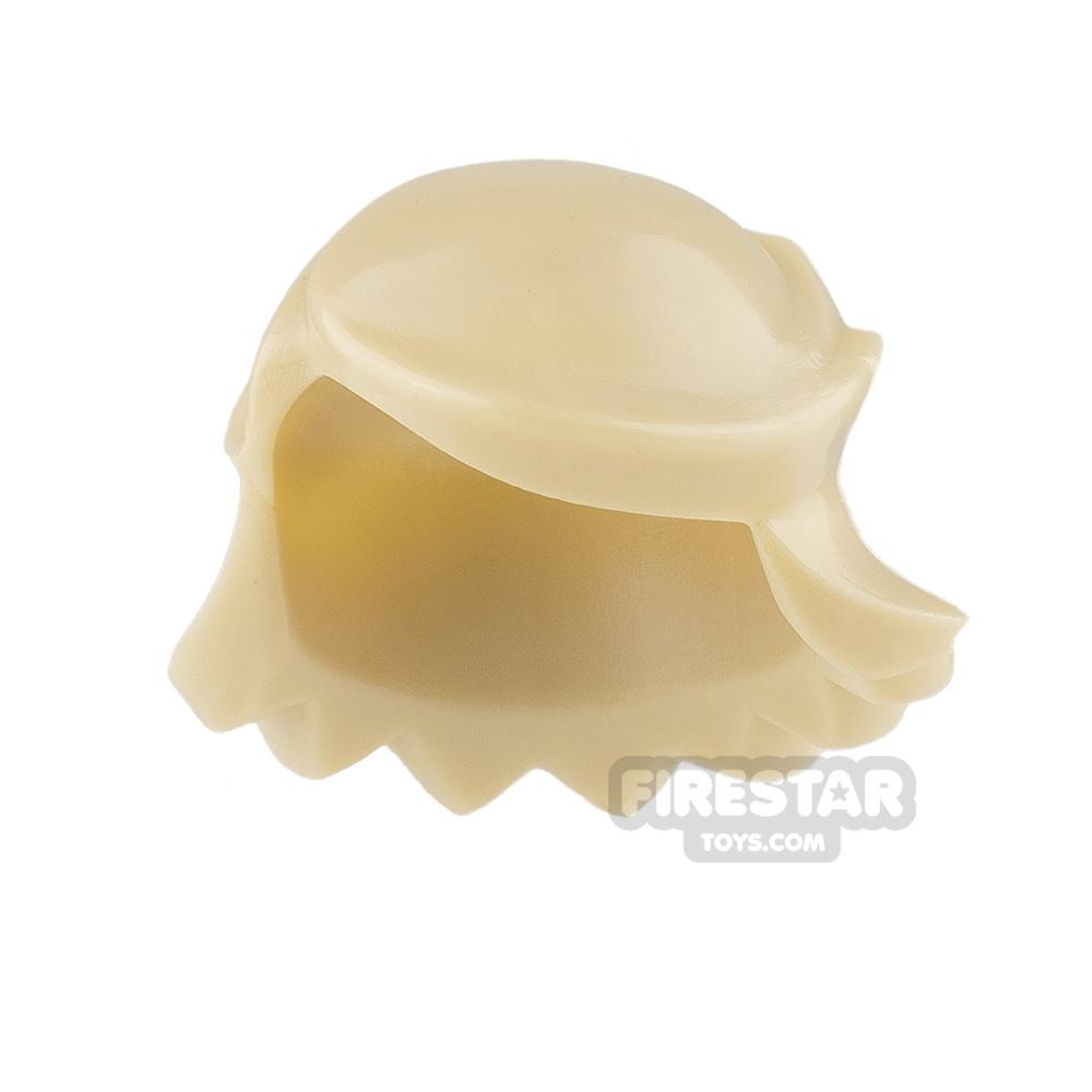 Arealight Mini Figure Hair - Breezy Hair - Tan