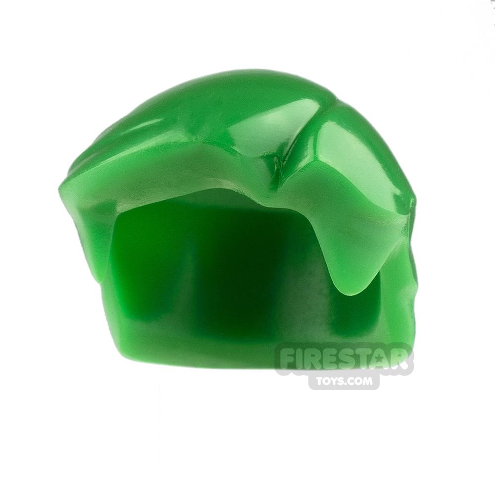 Arealight Mini Figure Hair - Hero Hair - Green