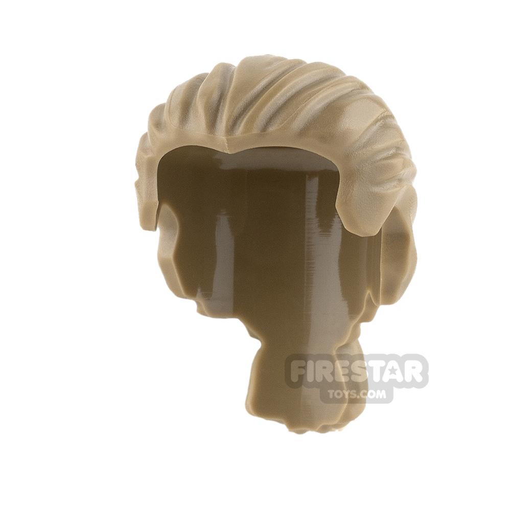LEGO Hair - Short Ponytail - Dark Tan