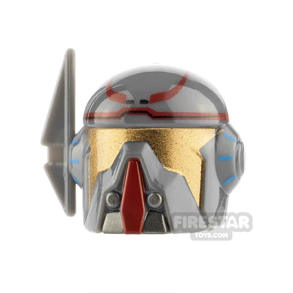 Arealight VIZ Merc Helmet Dark Red Print