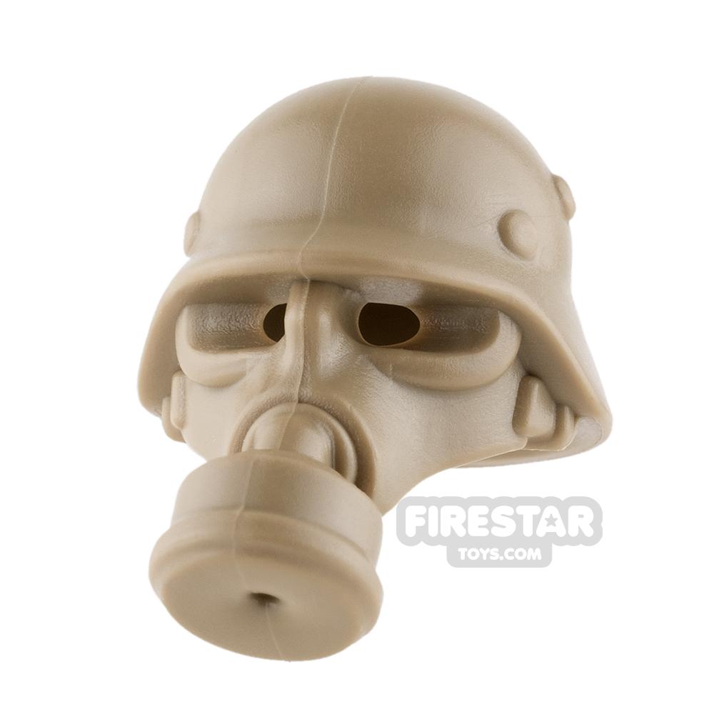 BrickWarriors German Gas Mask