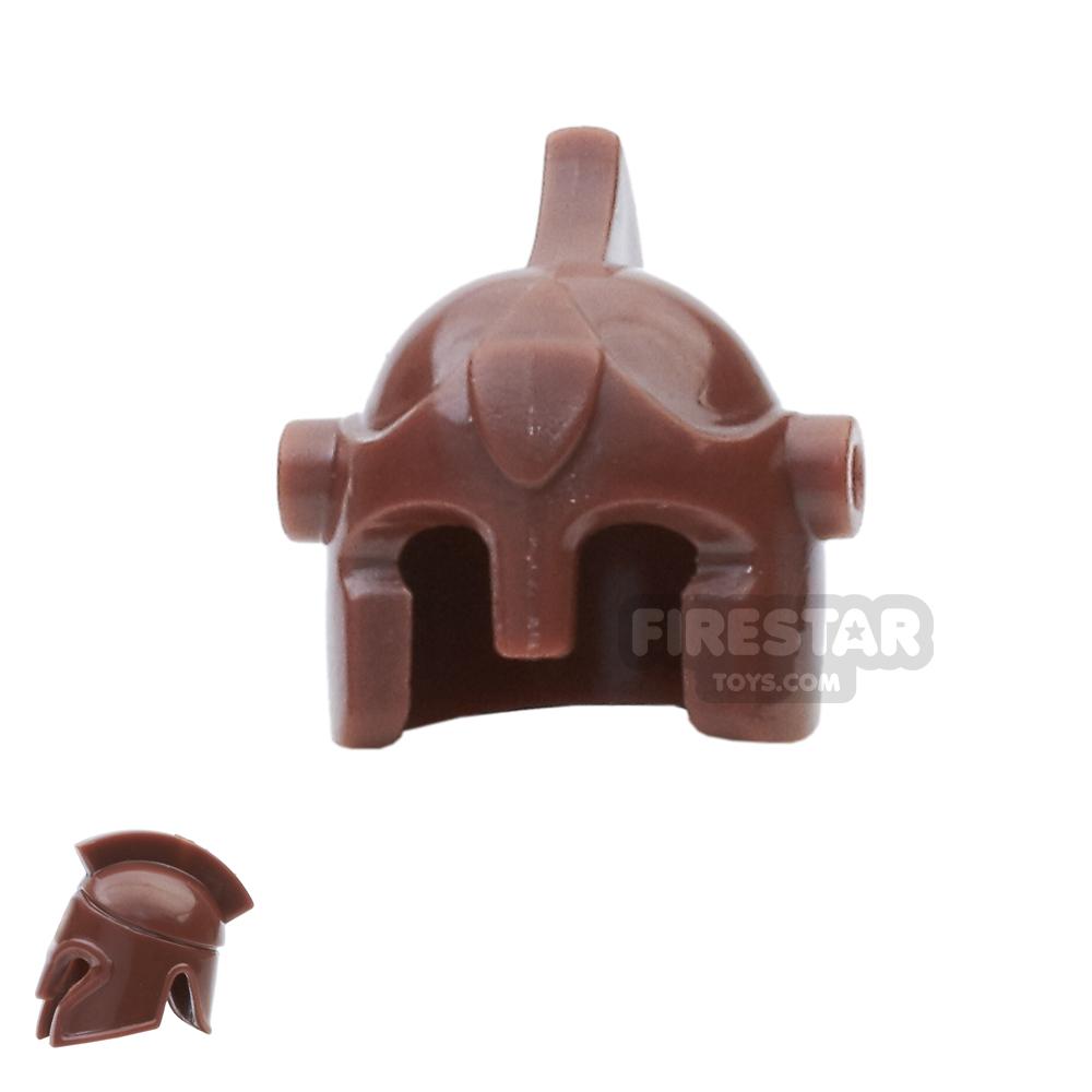 BrickForge - Battle Helmet - Reddish Brown