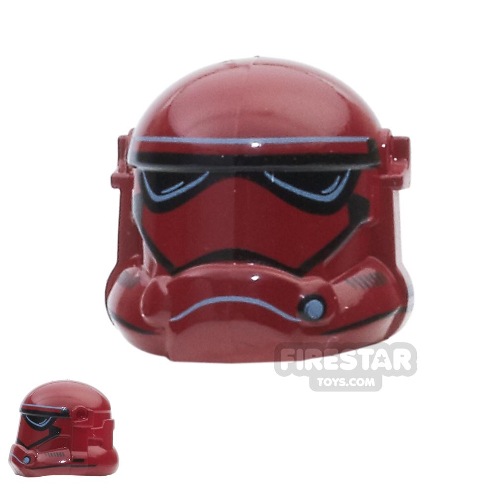 Arealight - Storm Combat Helmet - Dark Red