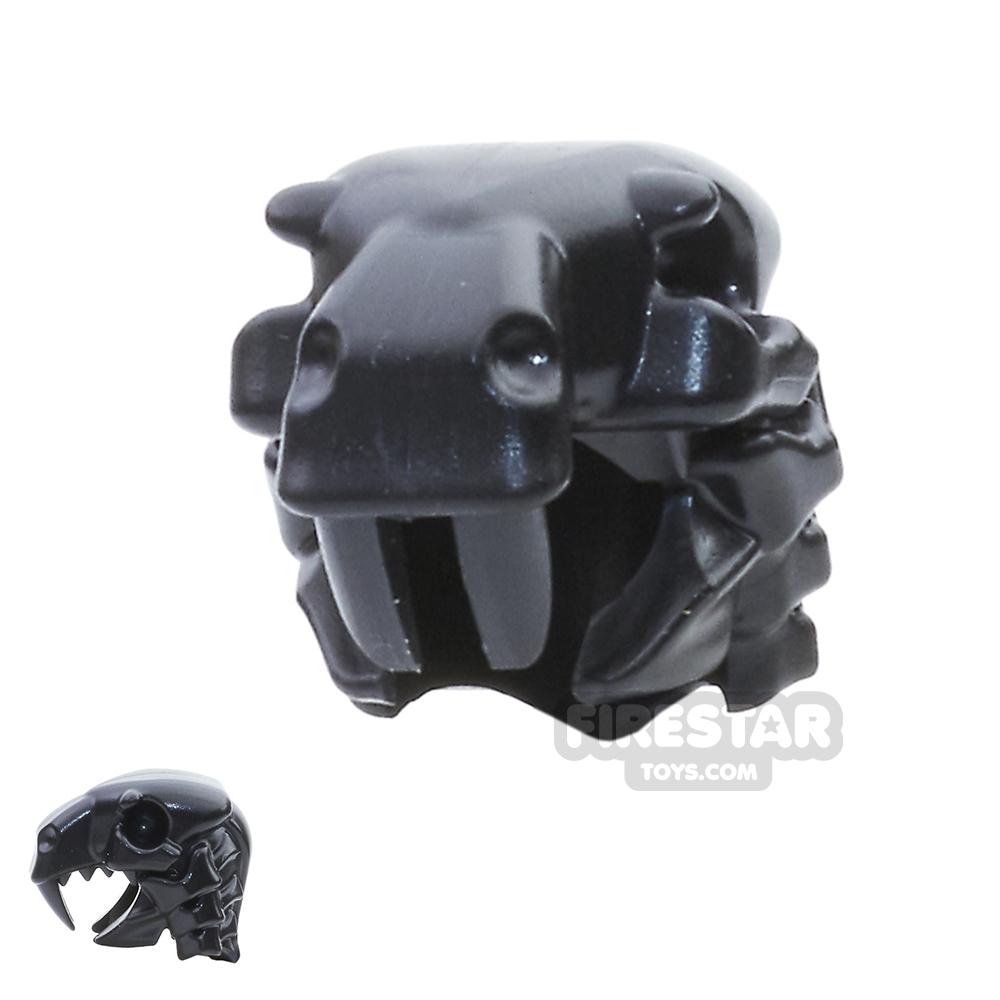 BrickWarriors - Sabertooth Helm - Black