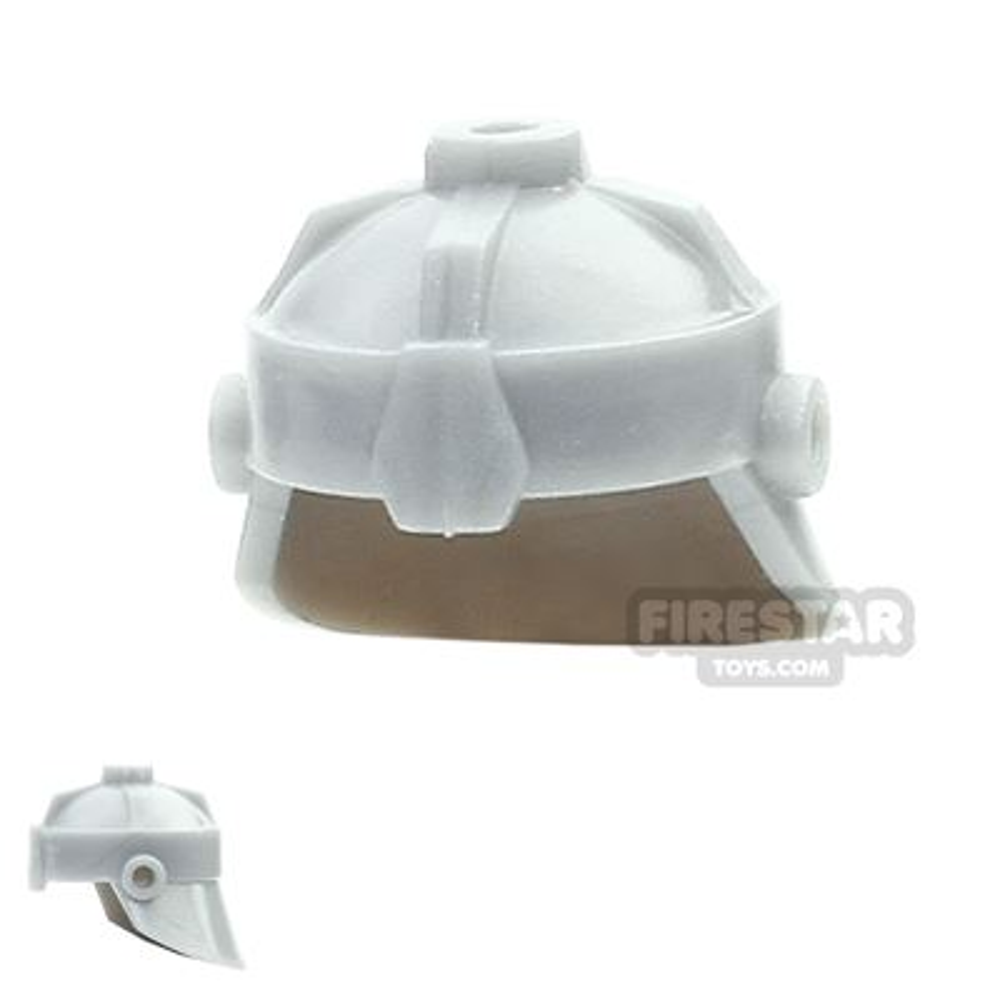 BrickForge - Dwarven Helmet - Light Silver