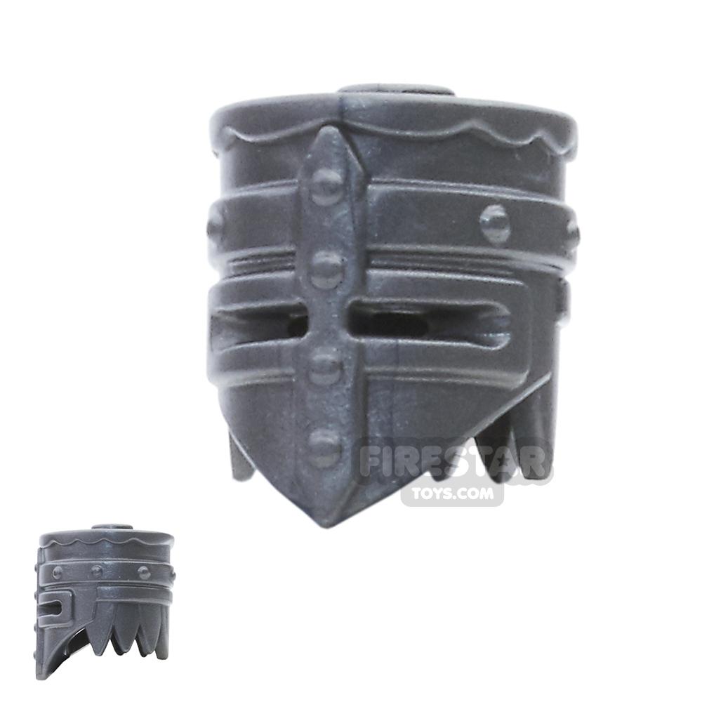 BrickWarriors - Crusader Helm - Steel