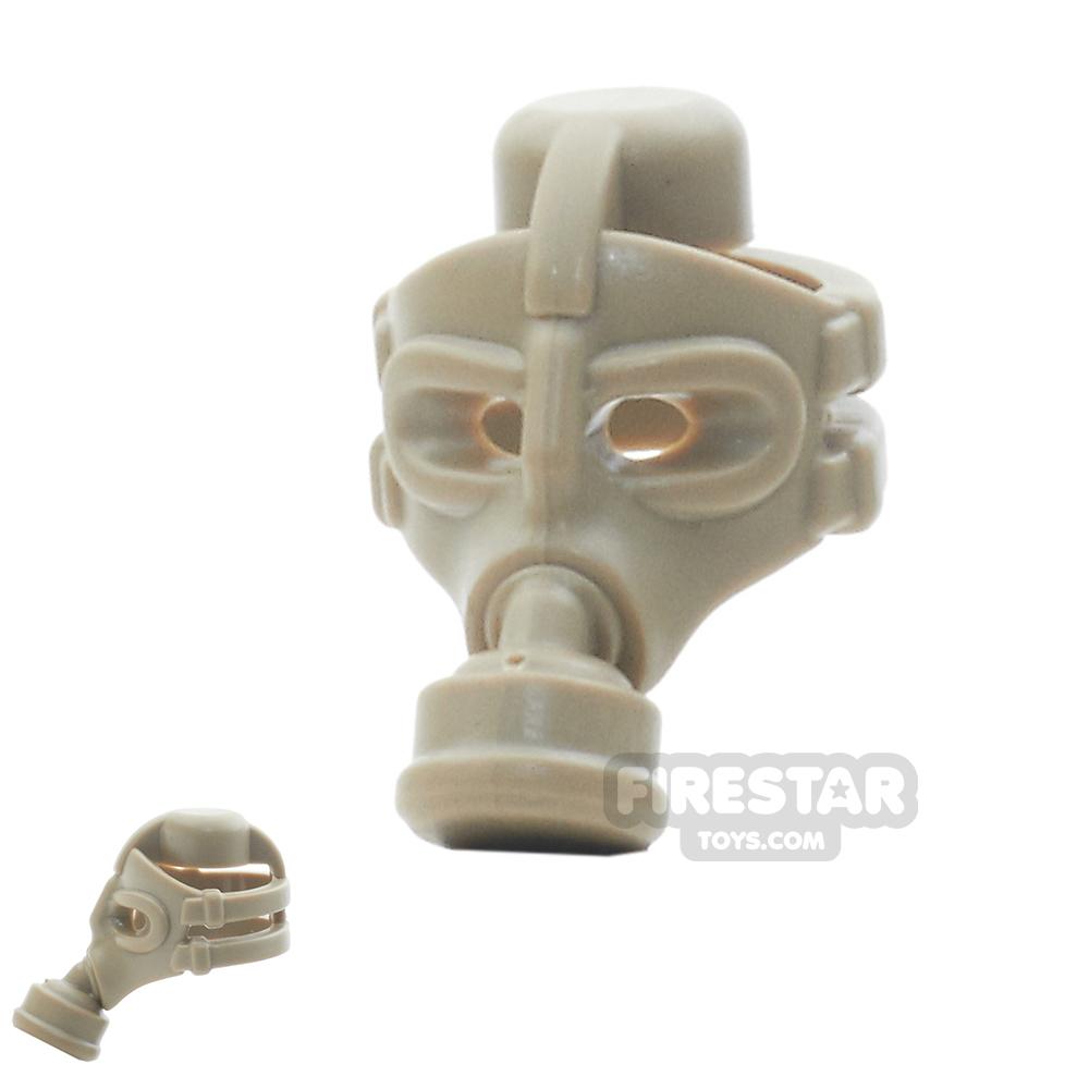 BrickWarriors - Gas Mask - Dark Tan