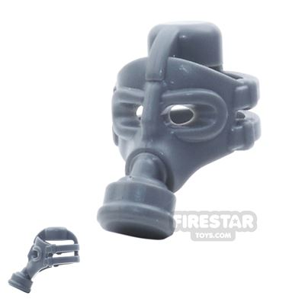 BrickWarriors - Gas Mask - Dark Gray