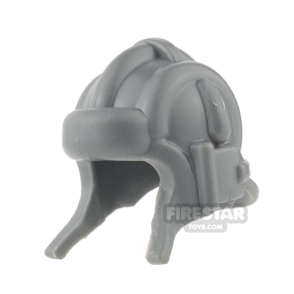 BrickWarriors - Soviet Tanker Helmet - Dark Gray