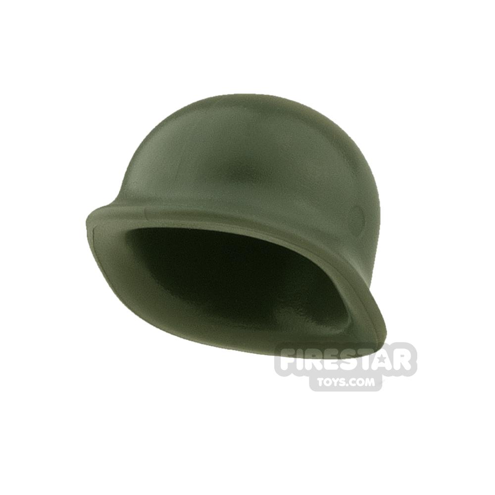 BrickWarriors - US M1 Helmet - Army Green