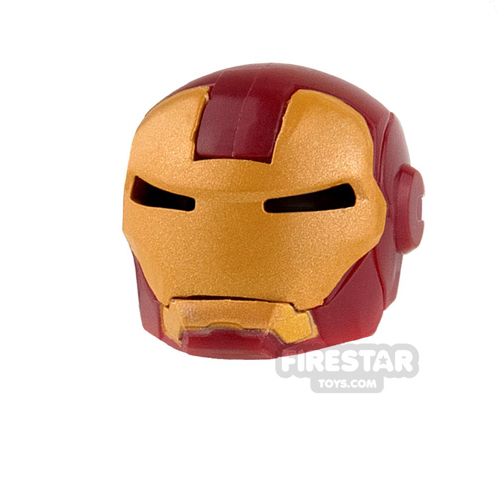 Clone Army Customs - MK Helmet - Dark Red and Gold