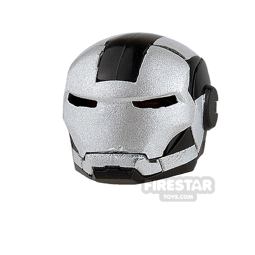 Clone Army Customs - MK Combat Helmet - Black and Silver