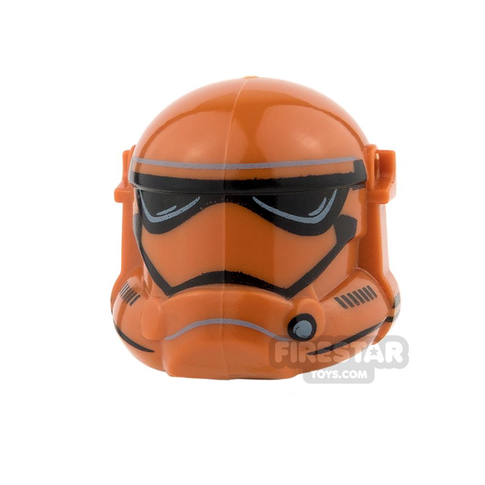 Arealight - Storm Combat Helmet - Dark Orange