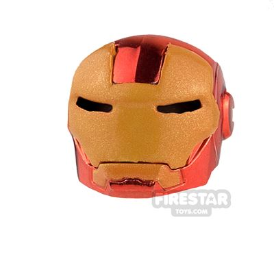 Clone Army Customs - MK Helmet - Chrome Red and Gold